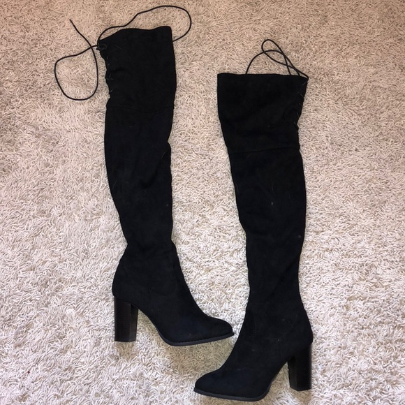 Qupid Shoes - ⚡️FLASH SALE⚡️perfect over the knee black boots